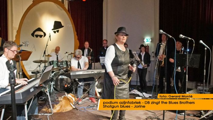 montE15867- DB zingt Blues Brothers