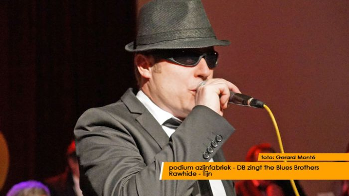 montE15869- DB zingt Blues Brothers