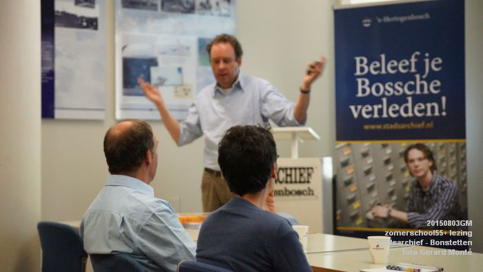 kDSC01311- Zomerschool55+ stadsarchief - lezing over Von Bonstetten - 3aug2015 - foto GerardMontE web