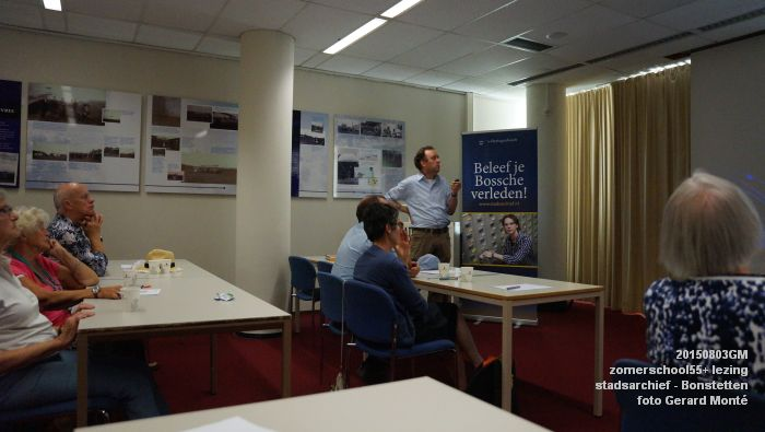kDSC01322- Zomerschool55+ stadsarchief - lezing over Von Bonstetten - 3aug2015 - foto GerardMontE web