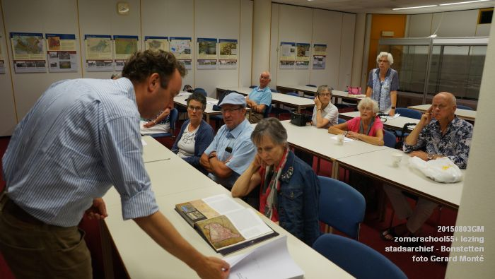 kDSC01361- Zomerschool55+ stadsarchief - lezing over Von Bonstetten - 3aug2015 - foto GerardMontE web