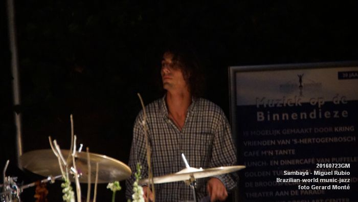 DSC03344- Sambaya - Brazilian-world music-jazz - 23juli2016 -  foto GerardMontE web