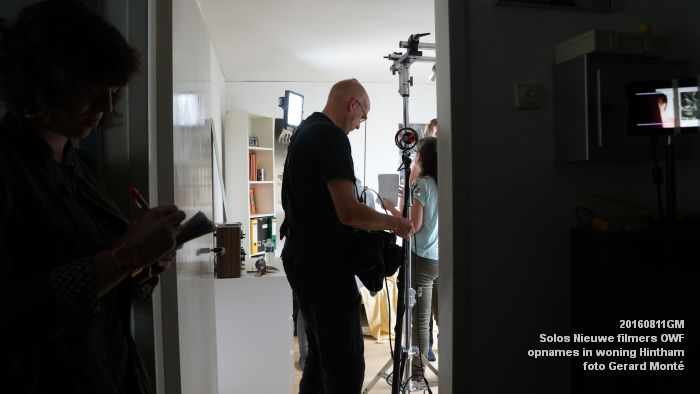 fDSC01040- Solos Nieuwe filmers One Week Film - opnames in een woning in Hintham - 11aug2016 -  foto GerardMontE web