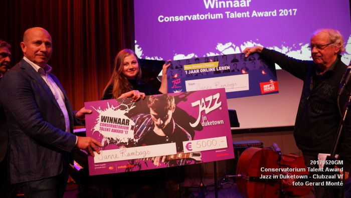 DSC08803- Jazz in Duketown - Conservatorium Talent Award - 20mei2017 - foto GerardMontE web