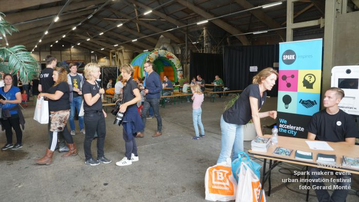 DSC06416- Spark makers event - urban innovation - Tramkade - 1juli2017 - foto GerardMontE