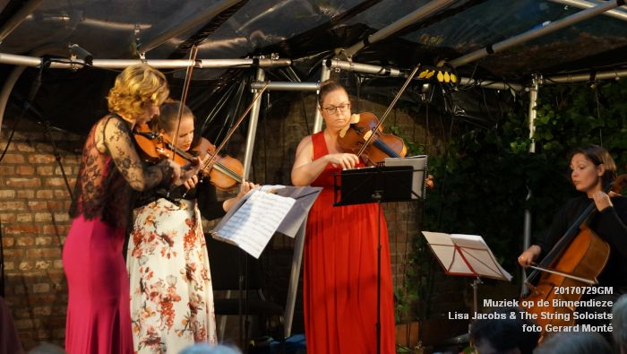 fDSC00304- Muziek op de Binnendieze - Lisa Jacobs en The String Soloists - 29juli2017 - foto GerardMontE web