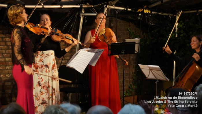 fDSC00305- Muziek op de Binnendieze - Lisa Jacobs en The String Soloists - 29juli2017 - foto GerardMontE web