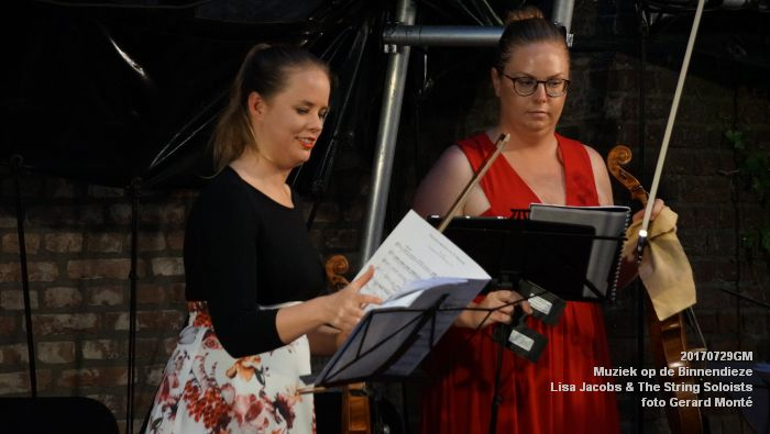 fDSC00311- Muziek op de Binnendieze - Lisa Jacobs en The String Soloists - 29juli2017 - foto GerardMontE web