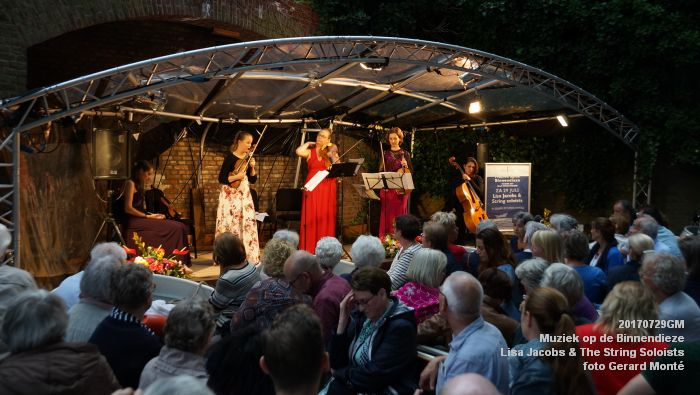 fDSC00314- Muziek op de Binnendieze - Lisa Jacobs en The String Soloists - 29juli2017 - foto GerardMontE web