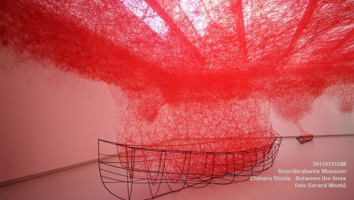 eDSC09062- Noordbrabants Museum - Chiharu Shiota Between the lines - 21juli2017 -  GerardMontE web