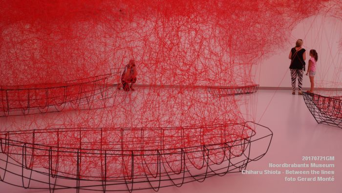 eDSC09076- Noordbrabants Museum - Chiharu Shiota Between the lines - 21juli2017 -  GerardMontE web