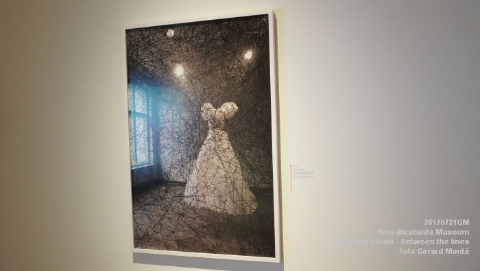 eDSC09093- Noordbrabants Museum - Chiharu Shiota Between the lines - 21juli2017 -  GerardMontE web