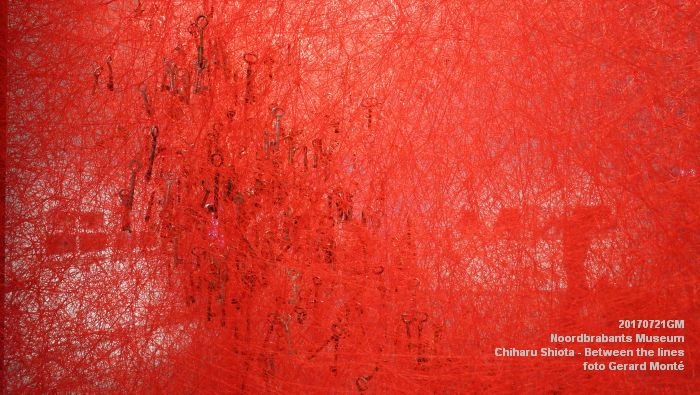 eDSC09098- Noordbrabants Museum - Chiharu Shiota Between the lines - 21juli2017 -  GerardMontE web