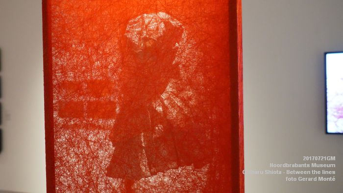 eDSC09100- Noordbrabants Museum - Chiharu Shiota Between the lines - 21juli2017 -  GerardMontE web