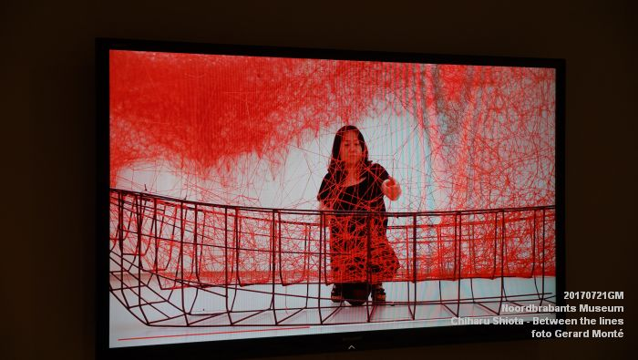 eDSC09104- Noordbrabants Museum - Chiharu Shiota Between the lines - 21juli2017 -  GerardMontE web