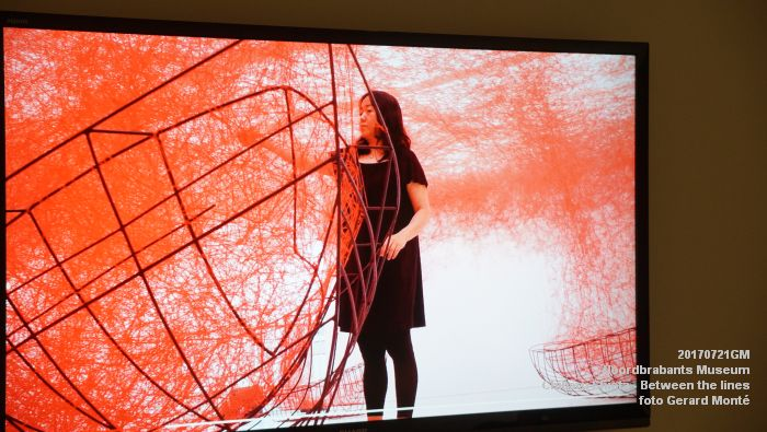 eDSC09105- Noordbrabants Museum - Chiharu Shiota Between the lines - 21juli2017 -  GerardMontE web