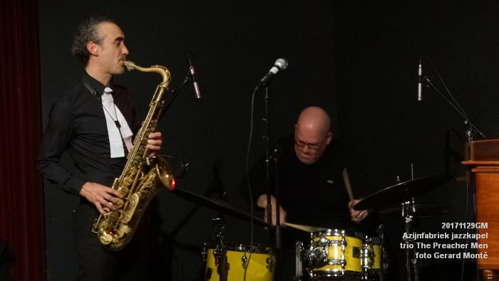 eDSC09388- Azijnfabriek jazzkapel - trio The Preacher Men - 29nov2017 - foto GerardMontE web