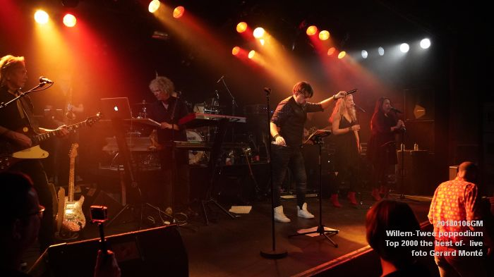f067DSC09215- Willem-Twee poppodium - Top 2000 the best of live- 6jan2018 - foto GerardMontE web