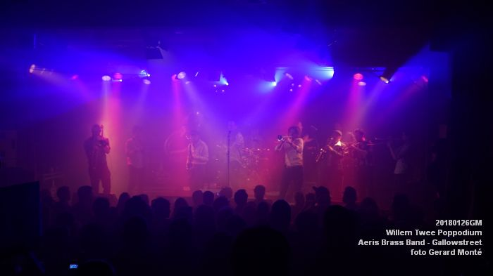 gDSC01335- Willem Twee Poppodium vrijdag -  Aeris Brass Band - Gallowstreet - 26jan2018 - foto GerardMontE web