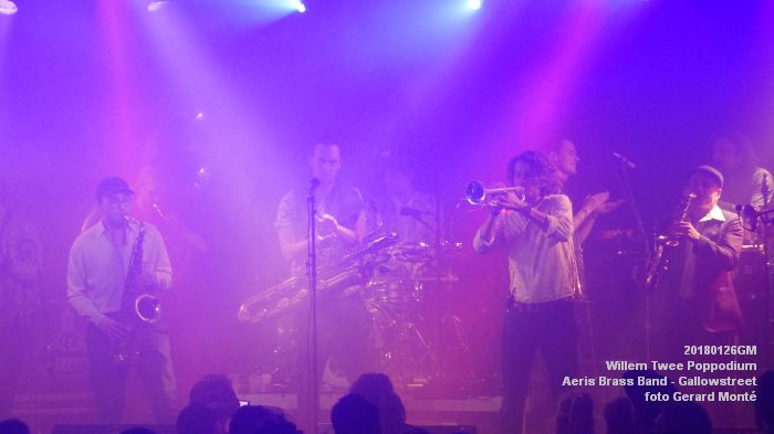 gDSC01336- Willem Twee Poppodium vrijdag -  Aeris Brass Band - Gallowstreet - 26jan2018 - foto GerardMontE web