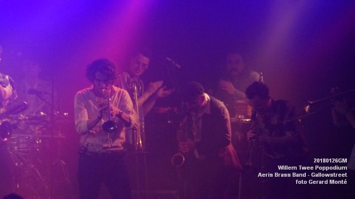 gDSC01337- Willem Twee Poppodium vrijdag -  Aeris Brass Band - Gallowstreet - 26jan2018 - foto GerardMontE web