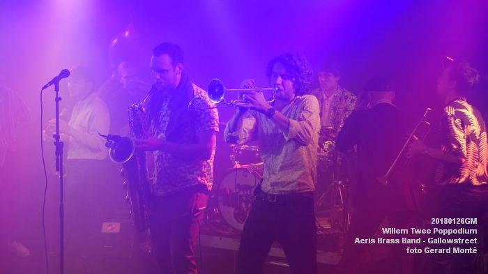 gDSC01340- Willem Twee Poppodium vrijdag -  Aeris Brass Band - Gallowstreet - 26jan2018 - foto GerardMontE web