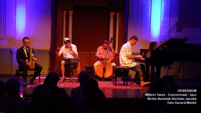 eDSC04064- Willem Twee - Jazz op vrijdag in de Concertzaal - Beets-Bennink-Herman-Jacobs - 20april2018 - foto GerardMontE web