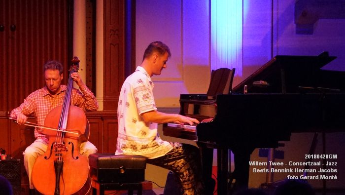 eDSC04067- Willem Twee - Jazz op vrijdag in de Concertzaal - Beets-Bennink-Herman-Jacobs - 20april2018 - foto GerardMontE web