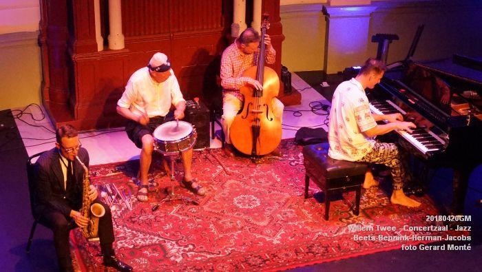 eDSC04090- Willem Twee - Jazz op vrijdag in de Concertzaal - Beets-Bennink-Herman-Jacobs - 20april2018 - foto GerardMontE web