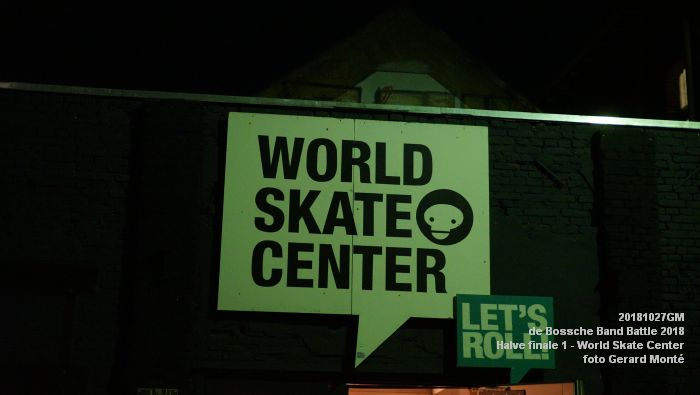 GDSC00630-  Bossche Band Battle 2018 - Halve finale 1 in het World Skate Center - 27okt2018 -  foto GerardMontE web