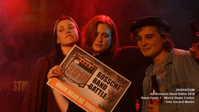 GDSC00711-  Bossche Band Battle 2018 - Halve finale 1 in het World Skate Center - 27okt2018 -  foto GerardMontE web