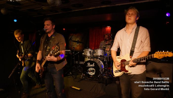 DSC05869- Start van de Bossche Band Battle 2018 - muziekcafe Lohengrin - 15sept2018 -  foto GerardMontE web