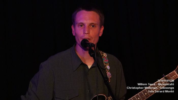oDSC07957- Willem Twee - Muziekcafe - Christopher Walkman - 1nov2018 -  foto GerardMontE web