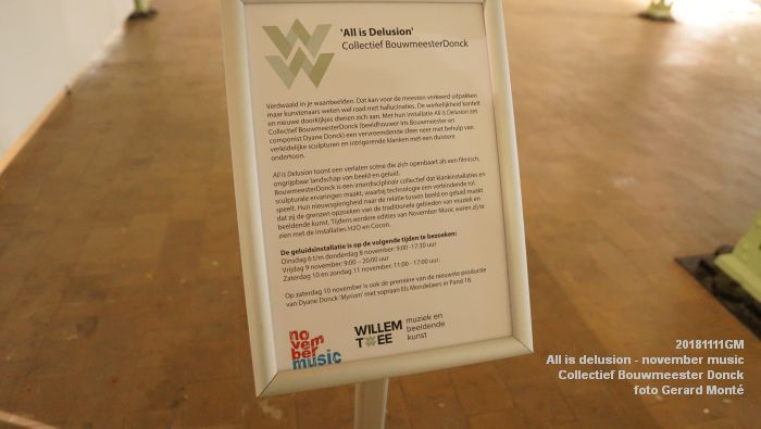KDSC02587- WillemTweeFabriek kunstzaal - All is delusion - Collectief Bouwmeester Donck - 11nov2018 -  foto GerardMontE web