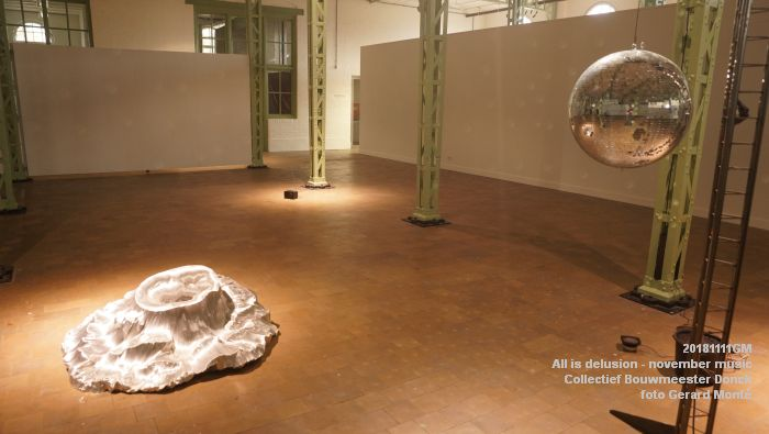 KDSC02592- WillemTweeFabriek kunstzaal - All is delusion - Collectief Bouwmeester Donck - 11nov2018 -  foto GerardMontE web
