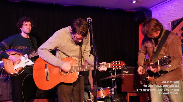 WDSC01440- Willem Twee Muziekcafe - The Avonden - Marc van der Holst- 13dec2018 -  foto GerardMontE web