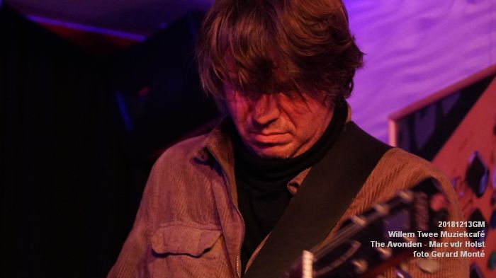 WDSC01461- Willem Twee Muziekcafe - The Avonden - Marc van der Holst- 13dec2018 -  foto GerardMontE web