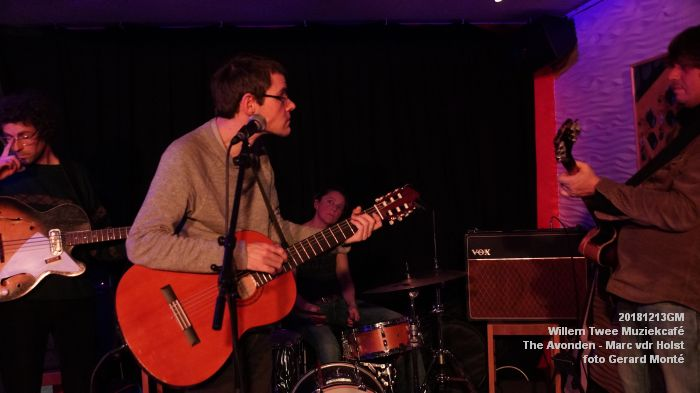 WDSC01464- Willem Twee Muziekcafe - The Avonden - Marc van der Holst- 13dec2018 -  foto GerardMontE web