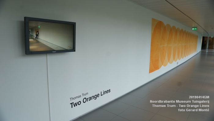 eDSC00140- Noordbrabants Museum - Thomas Trum - Two Orange Lines - 3 en 14apr2019 -  foto GerardMontE web