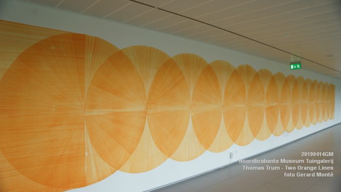 eDSC00141- Noordbrabants Museum - Thomas Trum - Two Orange Lines - 3 en 14apr2019 -  foto GerardMontE web