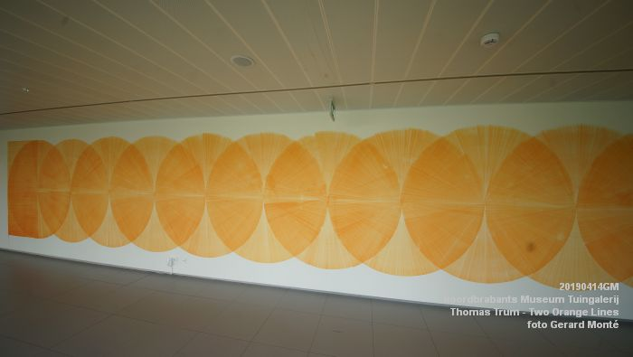 eDSC01083- Noordbrabants Museum - Thomas Trum - Two Orange Lines - 3 en 14apr2019 -  foto GerardMontE web