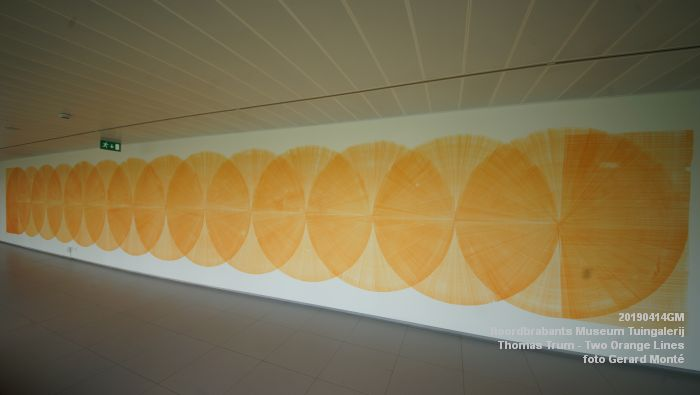 eDSC01085- Noordbrabants Museum - Thomas Trum - Two Orange Lines - 3 en 14apr2019 -  foto GerardMontE web