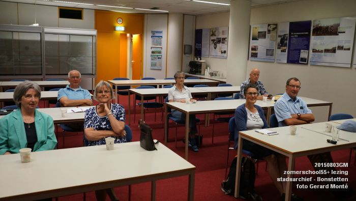 kDSC01285- Zomerschool55+ stadsarchief - lezing over Von Bonstetten - 3aug2015 - foto GerardMontE web