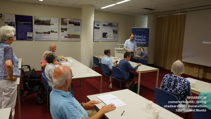 kDSC01352- Zomerschool55+ stadsarchief - lezing over Von Bonstetten - 3aug2015 - foto GerardMontE web