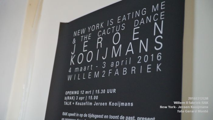 DSC09740- New York is Eating Me & The Cactus Dance - Jeroen Kooijmans - Willem II fabriek - 12maart2016 - foto GerardMontE web