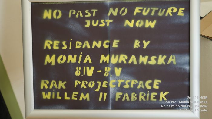 eDSC03244- RAK W2 - Monia Murawska_ No past, no future, just now. - 24april2016 - foto GerardMontE web
