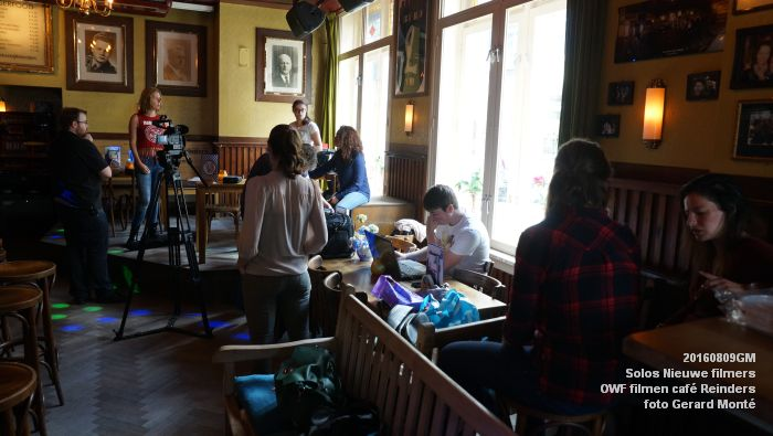 fDSC00193- Solos Nieuwe filmers One Week Film - opnames in cafe Reinders - 9aug2016 -  foto GerardMontE web