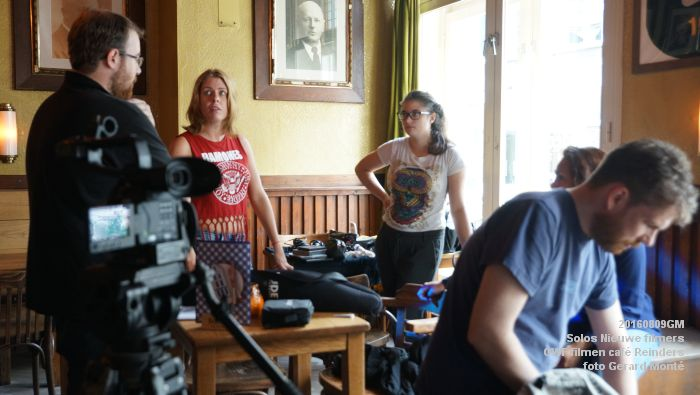 fDSC00196- Solos Nieuwe filmers One Week Film - opnames in cafe Reinders - 9aug2016 -  foto GerardMontE web