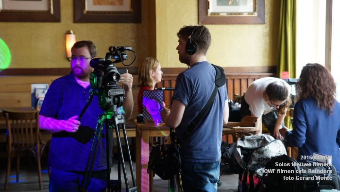 fDSC00208- Solos Nieuwe filmers One Week Film - opnames in cafe Reinders - 9aug2016 -  foto GerardMontE web