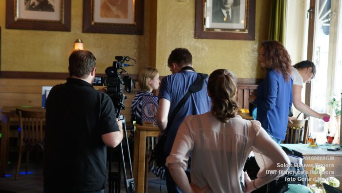 fDSC00209- Solos Nieuwe filmers One Week Film - opnames in cafe Reinders - 9aug2016 -  foto GerardMontE web